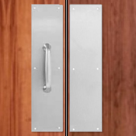Door ... & Diamond Plate Wall Guards Corner Guards u0026 Kick Plates