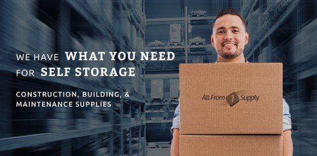 Self Storage Supplies Construction Building Repair